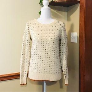 💕🌵Madewell Wallace Wool Knit Sweater Size XS